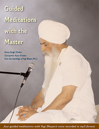 Guided Meditations with the Master