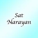 Sat Narayan Wahe Guru