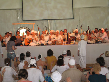 Yogafestival- Meditationen