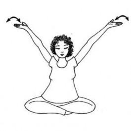 Entspannung und Loslassen von Ängsten - Schwangerenyoga Übungsreihe PDF
