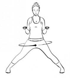 Yogaübung für einen starken Kampfgeist