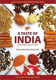 A Taste of India, Delicious Vegetarian Recipes - eBook