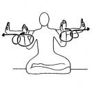 Erreiche die Quelle der Kraft in dir - Yoga - Set