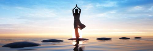 Yoga und Sommer